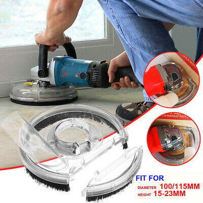 """Dust Cover Case for 3.5/""""-5/"""" Angle Hand Grinder Polisher B-100A Vacuum Clear #USA"""