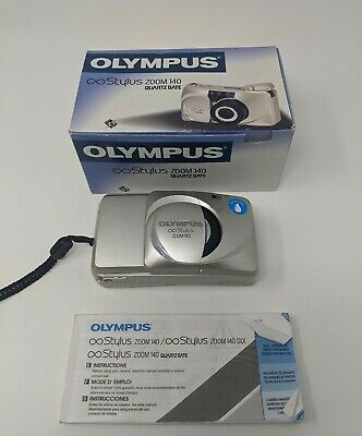 Olympus Stylus Zoom 140 35mm Film Compact Point & Shoot Camera AF
