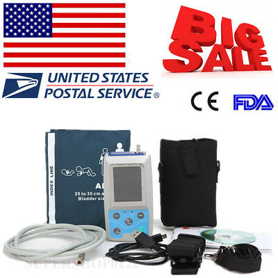 CONTEC USA FDA Ambulatory Blood Pressure Monitor+Software 24h NIBP Holter ABPM50