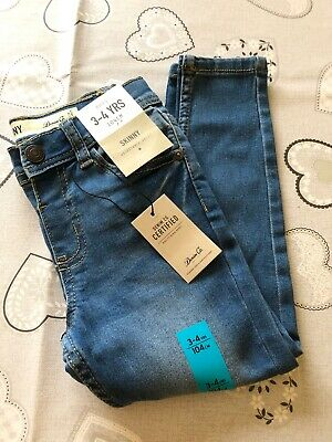 Boys Jeans 3-4 Years New