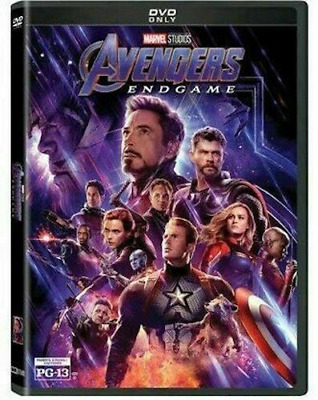 Avengers Endgame DVD  Sealed Free Shipping Included