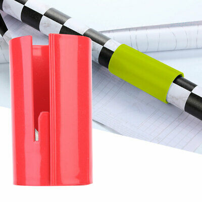 High Quality Red Safety Sliding Wrapping Paper Cutter Craft Practical Tool