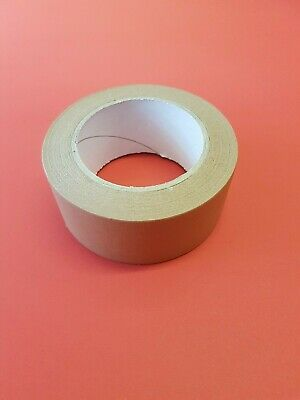 50mm x 50m Brown Paper Self Adhesive Tape Picture Framing Frame Craft FREE POST