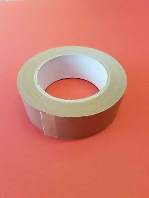 38mm x 50m Brown Paper Self Adhesive Tape Picture Framing Frame Craft FREE POST