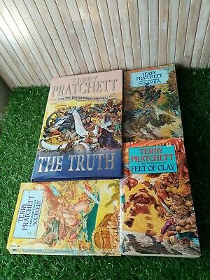 Terry Pratchett Books Joblot Discworld Bundle The Truth Sourcery Pyramids etc