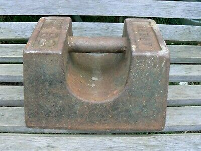 Industrial Cast Iron 56lb Pound Weight - AVERY
