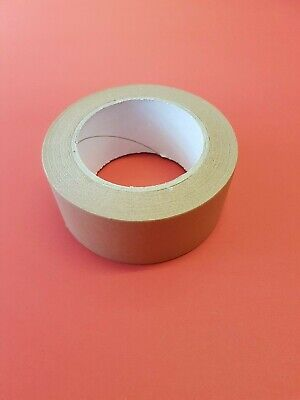 50mm x 50m Brown Paper Self Adhesive Picture Frame Tape Framing Craft
