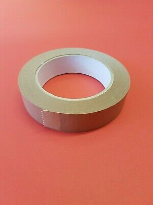 5 x 25mm Brown Self Adhesive Backng Tape Arts Crafts Picture Framing NEW