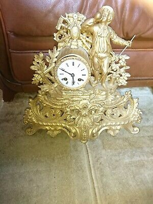 A Fine Antique French Mantel Clock