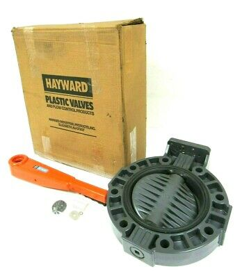 """New Hayward 8"""" Butterfly Valve, Lever Handle"""