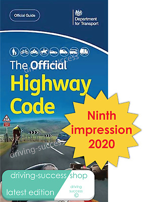 The Official DVSA 2020 Highway Code Book (Published April 2020) Theory Test aid