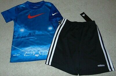 ~NWT Boys ADIDAS & NIKE Outfit! Size 4 Nice:)!
