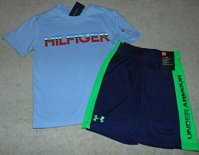 ~NWT Boys UNDER ARMOUR & TOMMY HILFIGER Outfit! Size 5 Nice:)!