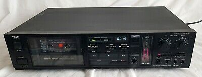 Trio Kenwood KX-780 3 Head Cassette Deck Dolby B & C  Sounds Great