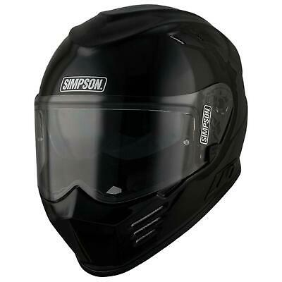 Simpson Venom Helmet Gloss Black Large