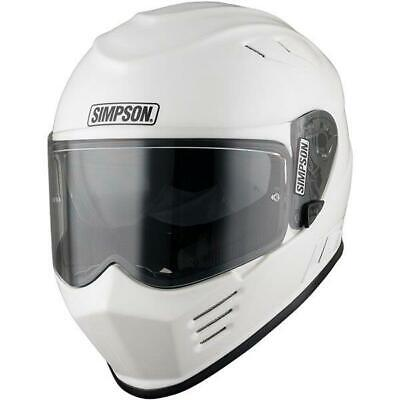Simpson Venom Helmet White Small