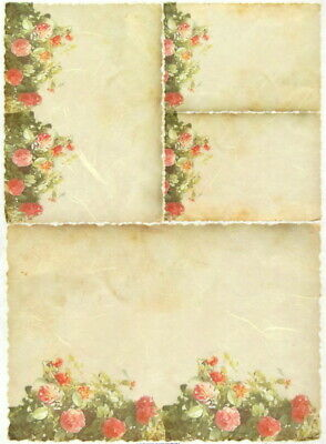 Rice Paper for Decoupage Scrapbooking Sheet Craft Flower Background