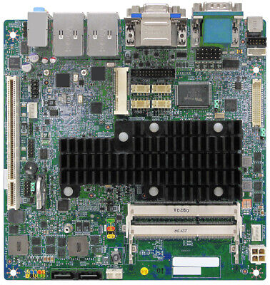 MINIX D2500-HD Motherboard Intel Atom 1.86GHz Dual Core w//1GB Ram Fan Cables