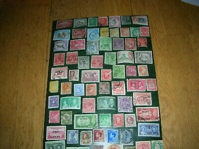 stamp collection commonwealth mix
