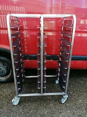 No436   20 Tray Stainless Steel Stand  830Mm X 567Mm X 1400Mm High