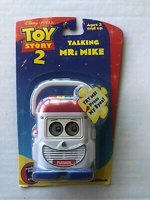 Talking Mr. Mike Toy Story made by Hasbro 1999