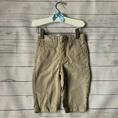 Baby Boys 6-12 Months - Trousers - GAP Beige Chino Smart 100% Cotton