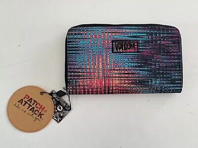 Bnwt Volcom Ladies Patch Attack Travel Wallet Sold Out Style