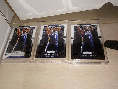 ZION WILLIAMSON 2019/20 PANINI PRIZM #248 Rookie Chase RANDOM Re-Packs 4 Cards