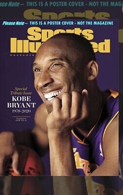 Kobe Bryant Sports Illustrated Magazine Special 2020 Tribute Issue - Brand New.