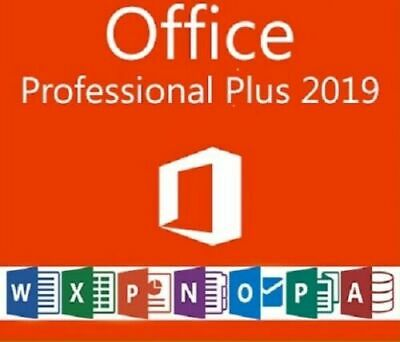 Microsoft Office Professional Plus 2019 Licence Key Product ✔️Fast Delivery✔️