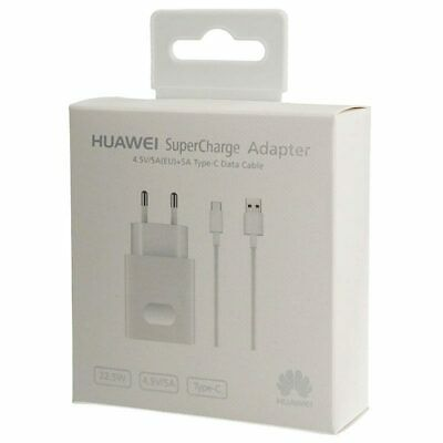 HUAWEI - Chargeur Complet (Câble + Prise) Micro USB Charge Rapide / 22.5W / 4.5A