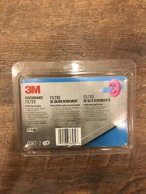 3M, Tekk Protection, 4 Pack, Particulate P100 Filter
