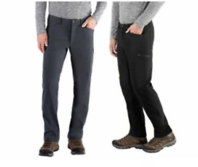 NWT Men/'s B C Clothing Expedition 6 Pocket Fleece Lined Softshell Pants