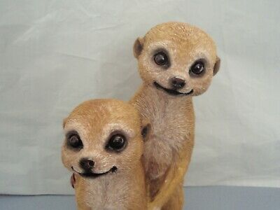 Cheeky Meerkat Youngsters Figurine/Statue 25 cm * New * Garden Ornament