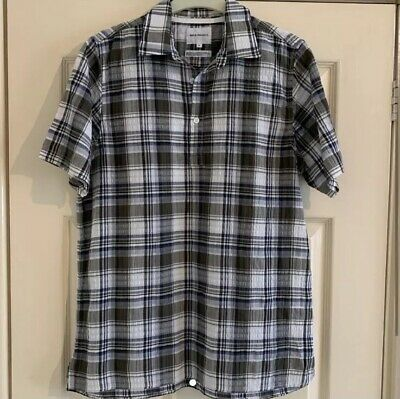 NEW Closed Red /& Blue Campbell Check Seersucker Shirt GENUINE RRP £160 BNWT
