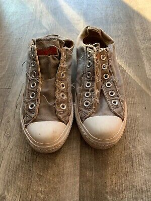 Converse Womens All Star PC2 Leather Trainers Brown size 6