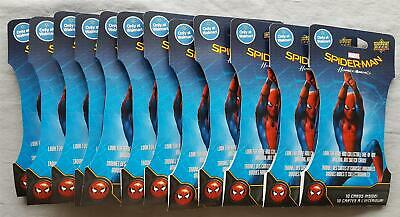 Upper Deck Marvel Spider-Man Homecoming 50 Pack = 500 Cards