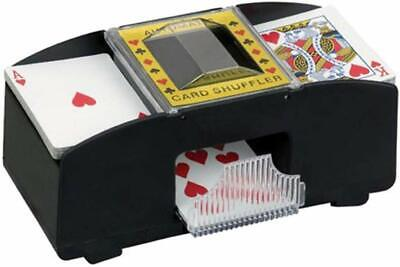 Automatic Card Shuffler 2 Deck Casino Playing Cards Sorter Poker New (other) UK