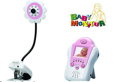 Digital LCD Display Video Baby Monitor Voice Control New Camera Night Vision