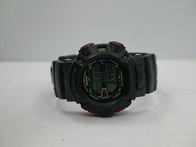 Casio G-Shock g9000 Black Resin Digital Dial Quartz Wrist Watch New Batt