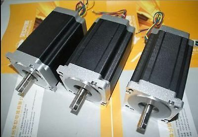 3pcs Nema34 Stepper Motor 1232OZ-IN 5.6A 34HS1456  longs motor
