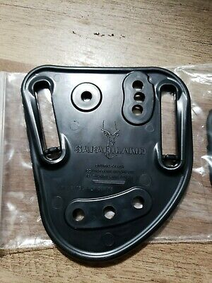 "Safariland 567Bl-1-2-50 2.00/"" Belt Slots Hi-Ride Belt Loop Adapter for Model 567"