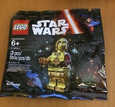 Polybag LEGO 5002948 Star Wars Minifigure VIP Exclusive C-3PO Red Arm