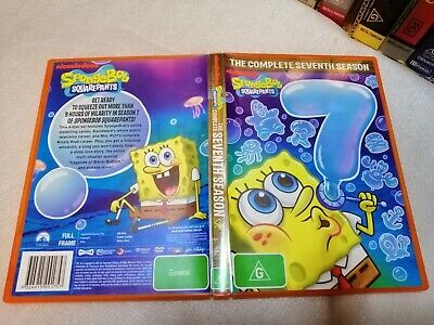 SPONGEBOB  SQUAREPANTS - The Complete 7th Season Box Set DVD R4 - Over 10 Hours