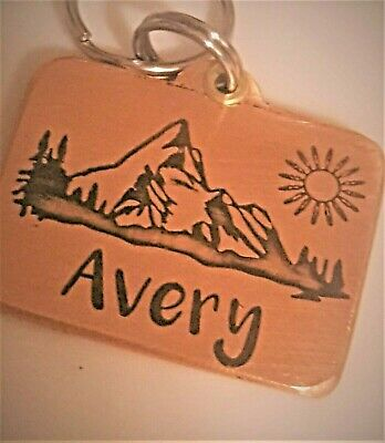 CUSTOM ENGRAVED PERSONALIZED PET TAG ID DOG CAT DOUBLE SIDE  NAME TAGS  Brass