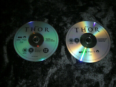 Thor Blu ray  discs  only