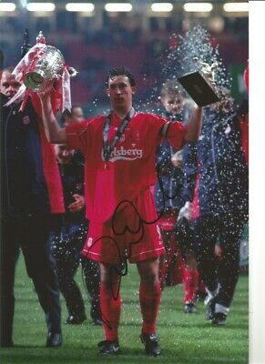Robbie Fowler Liverpool 12 x 8 inch hand signed authentic football photo SS295