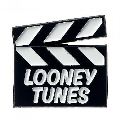 New Official Genuine Looney Tunes Clapper Board Trading Pin Badge