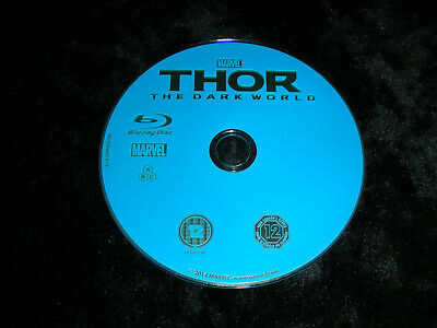Thor The Dark World Blu Ray    disc only