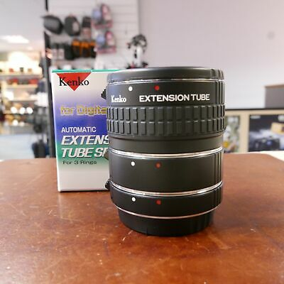 Used Kenko DG Extension tubes in Canon fit - 1 YEAR GTEE